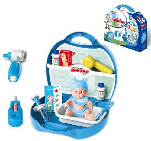 Купить Игровой набор в чемоданчике из серии Профи - Доктор, 19 предметов, 1TOY