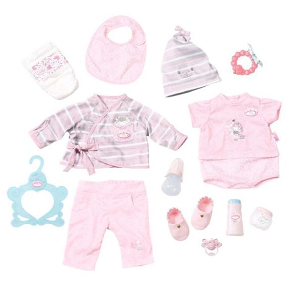 Baby Annabell - Супернабор с одеждой и аксессуарамиОдежда Baby Annabell<br>Baby Annabell - Супернабор с одеждой и аксессуарами<br>