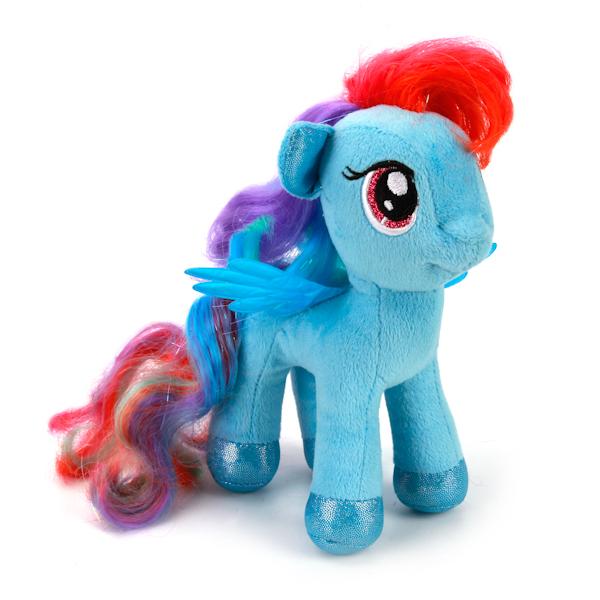 Озвученная мягкая игрушка My Little Pony - Пони Радуга, 18 смМоя маленькая пони (My Little Pony)<br>Озвученная мягкая игрушка My Little Pony - Пони Радуга, 18 см<br>