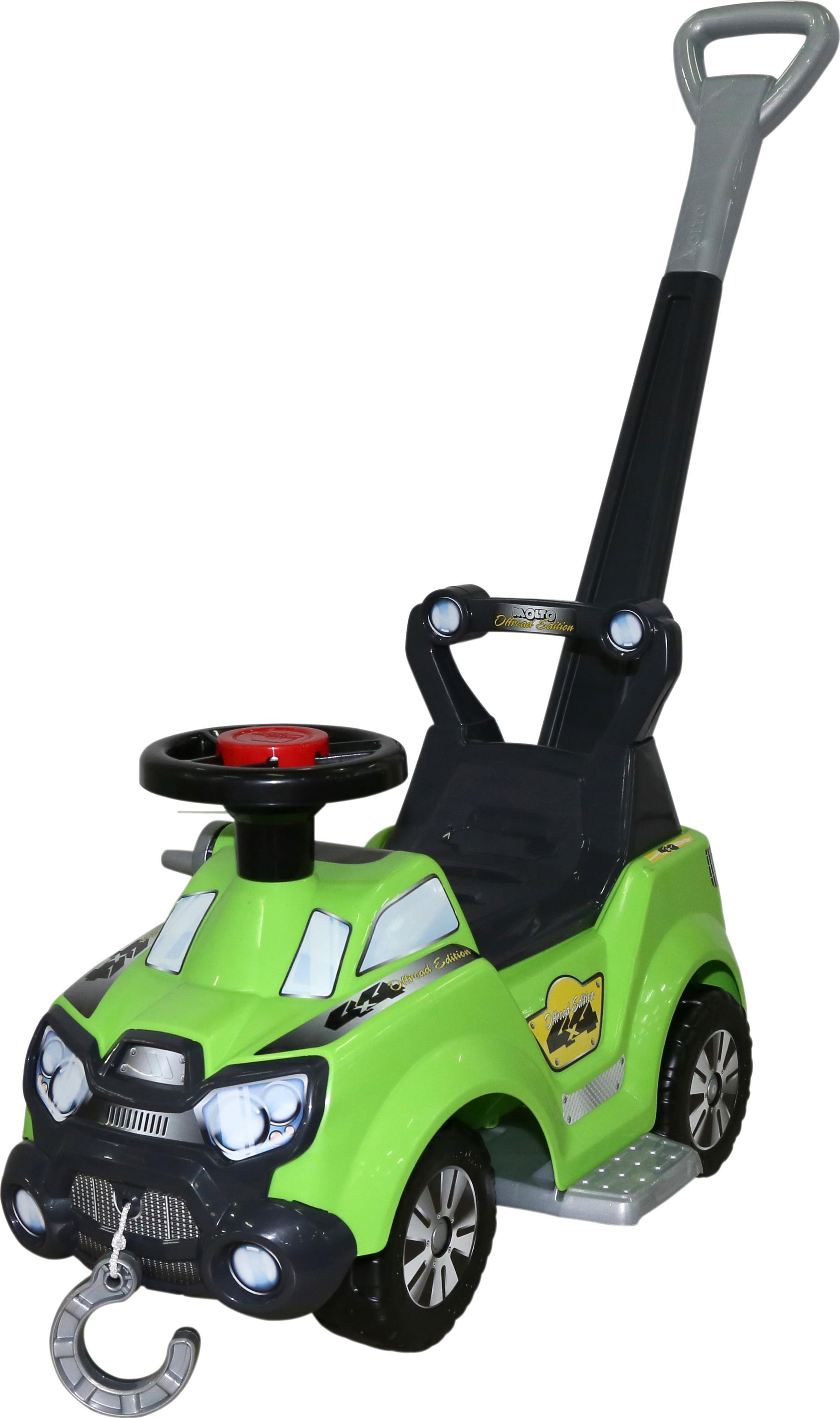 Каталка-автомобиль Sokol с ручкой и подножкойМашинки-каталки для детей<br>Каталка-автомобиль Sokol с ручкой и подножкой<br>