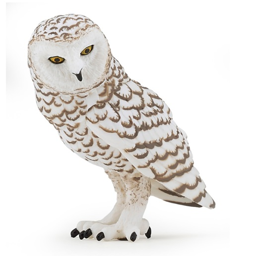 Игровая и коллекционная фигурка - Снежная сова фото