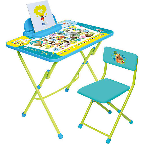 Набор детской мебели Пушистая азбукаДетские мольберты и парты<br>Набор детской мебели Пушистая азбука<br>