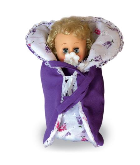 Кукла Юлька 4, высотой 21 смРусские куклы фабрики Весна<br>Кукла Юлька 4, высотой 21 см<br>