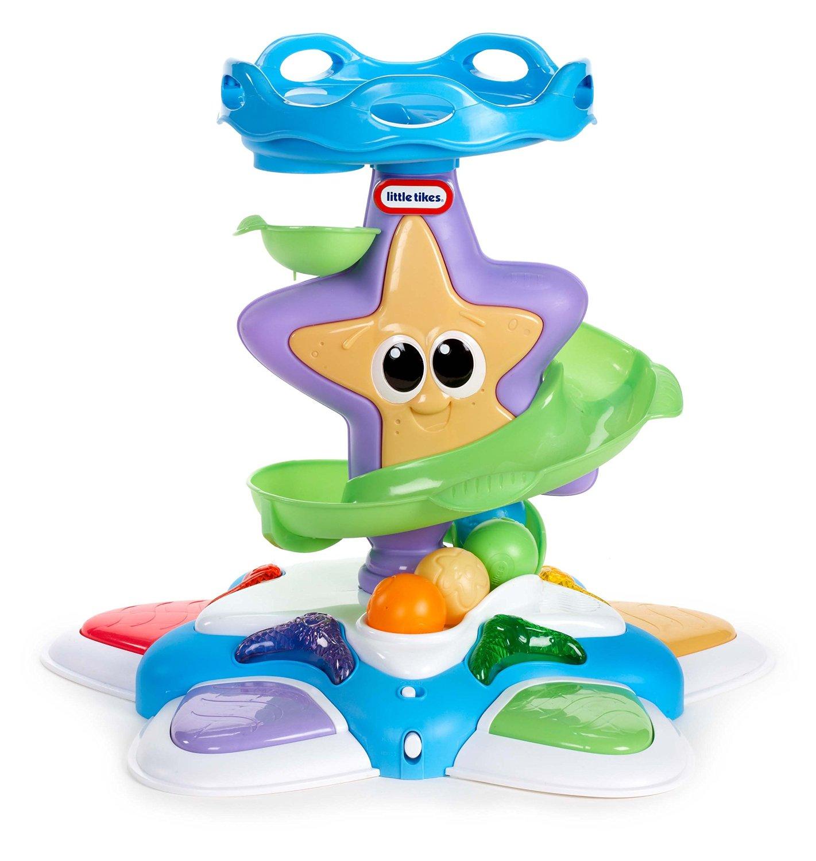 Интерактивная развивающая игрушка Морская звезда, с горкой-спиралью, звуковыми и световыми эффектамиРазвивающие игрушки Little Tikes<br>Интерактивная развивающая игрушка Морская звезда, с горкой-спиралью, звуковыми и световыми эффектами<br>
