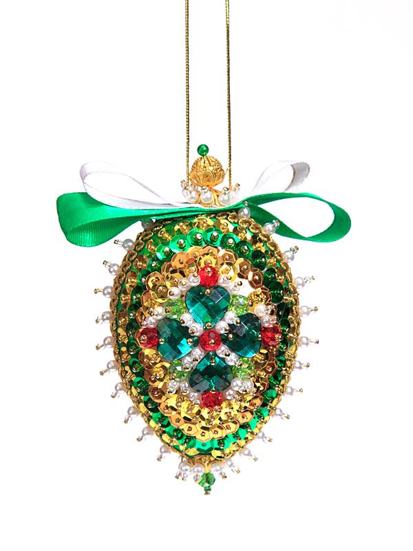 Купить Набор для творчества - Шишка новогодняя Изумрудная, Волшебная мастерская