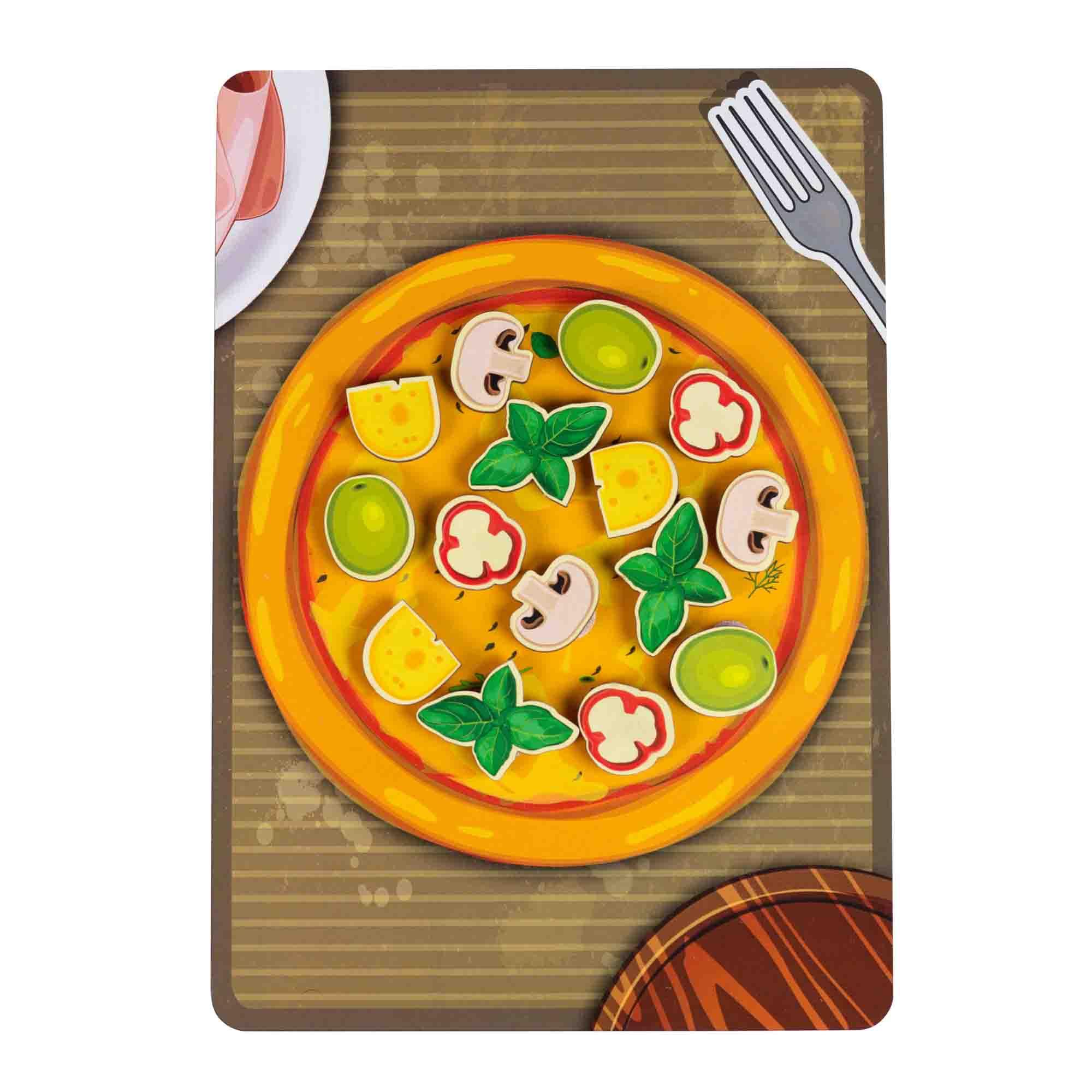 Игровой набор - Липучка Пицца грибная