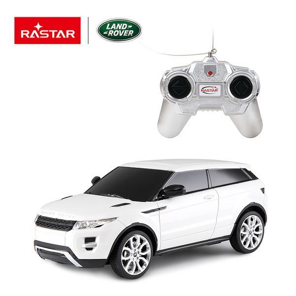 картинка Машина р/у 1:24 - RangeRover Evoque, цвет белый от магазина Bebikam.ru