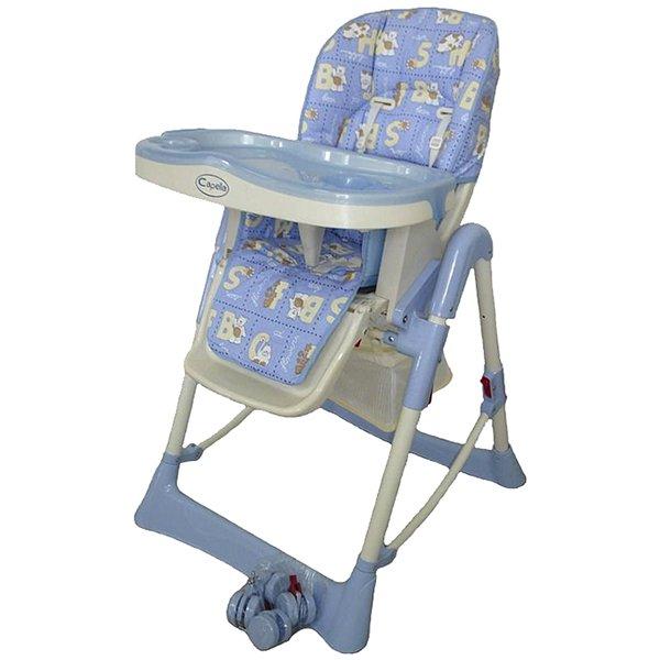 Детский стульчик для кормления Jetem – Piero Light Blue WorldСтульчики для кормления<br>Детский стульчик для кормления Jetem – Piero Light Blue World<br>