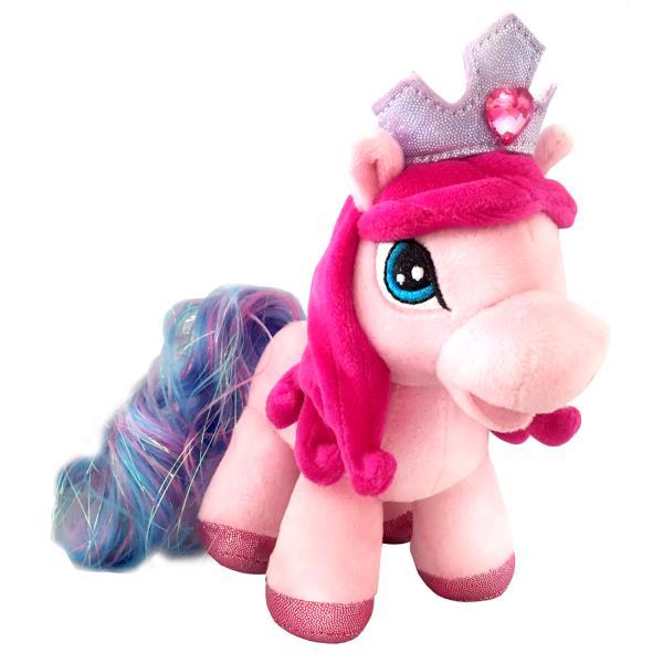 Купить Мягкая игрушка – Пони Кристалл, озвученная, русский чип, 17 см., Мульти-Пульти