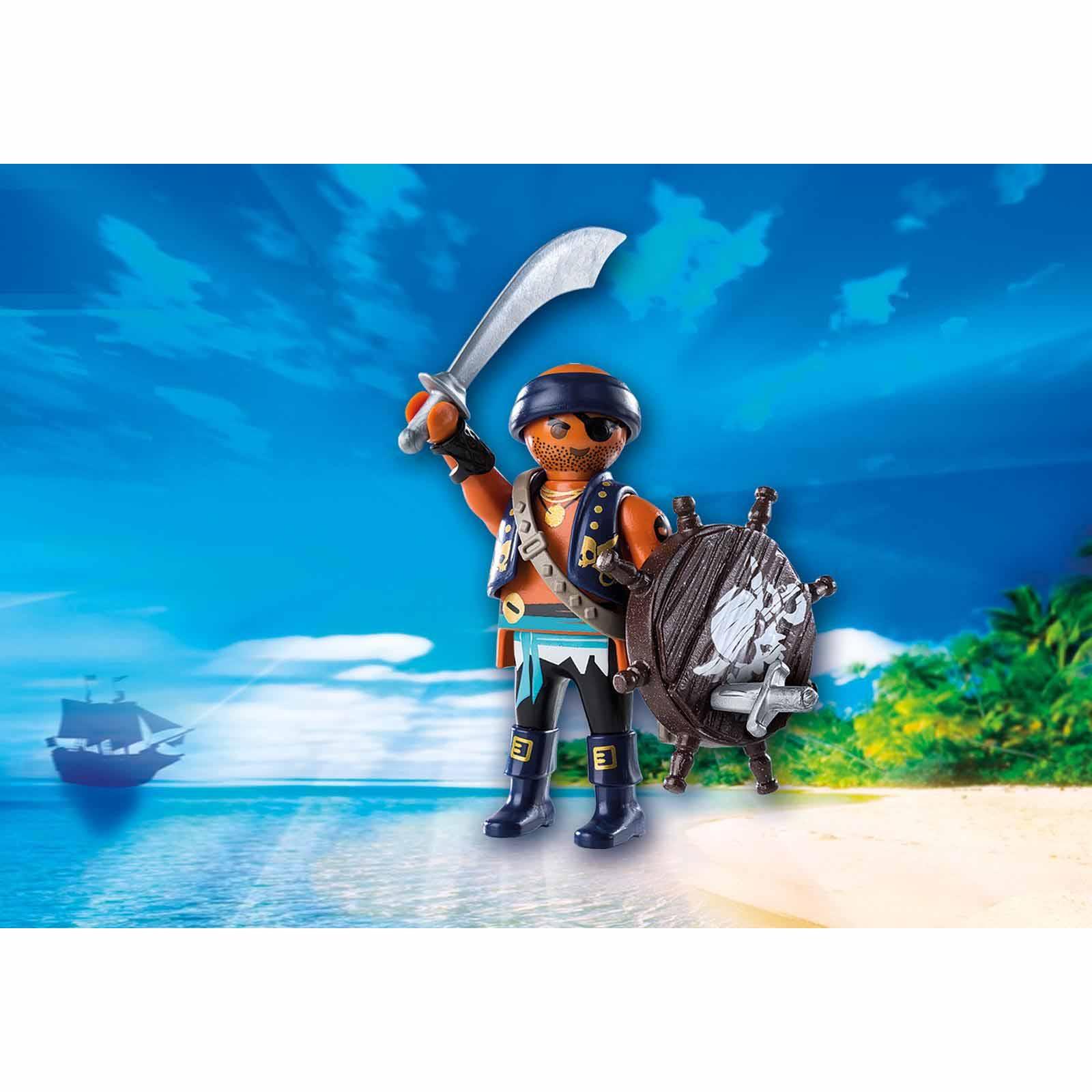 Купить Игровой набор - Пират с щитом, Playmobil