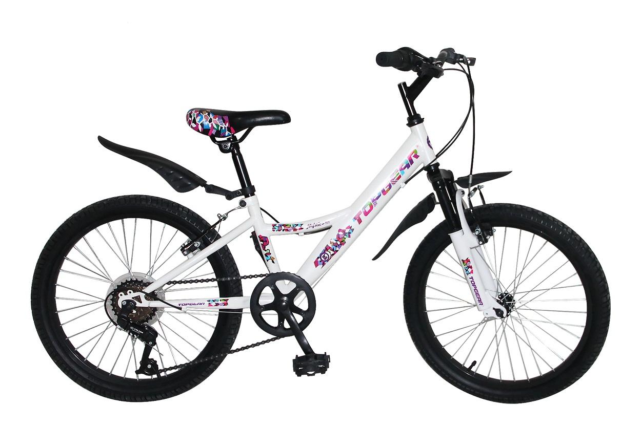 Купить Велосипед детский Хардтейл - Mystic, колеса 20 дюймов, 7 скоростей, Topgear