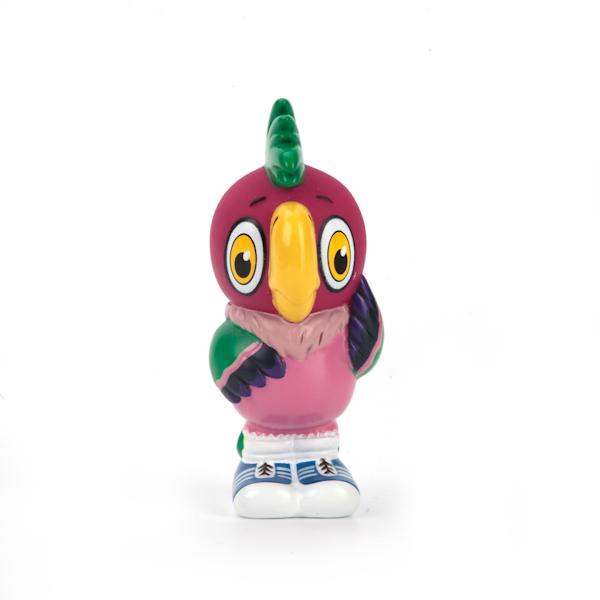 Фигурка для ванной - Попугай КешаРезиновые игрушки<br>Фигурка для ванной - Попугай Кеша<br>