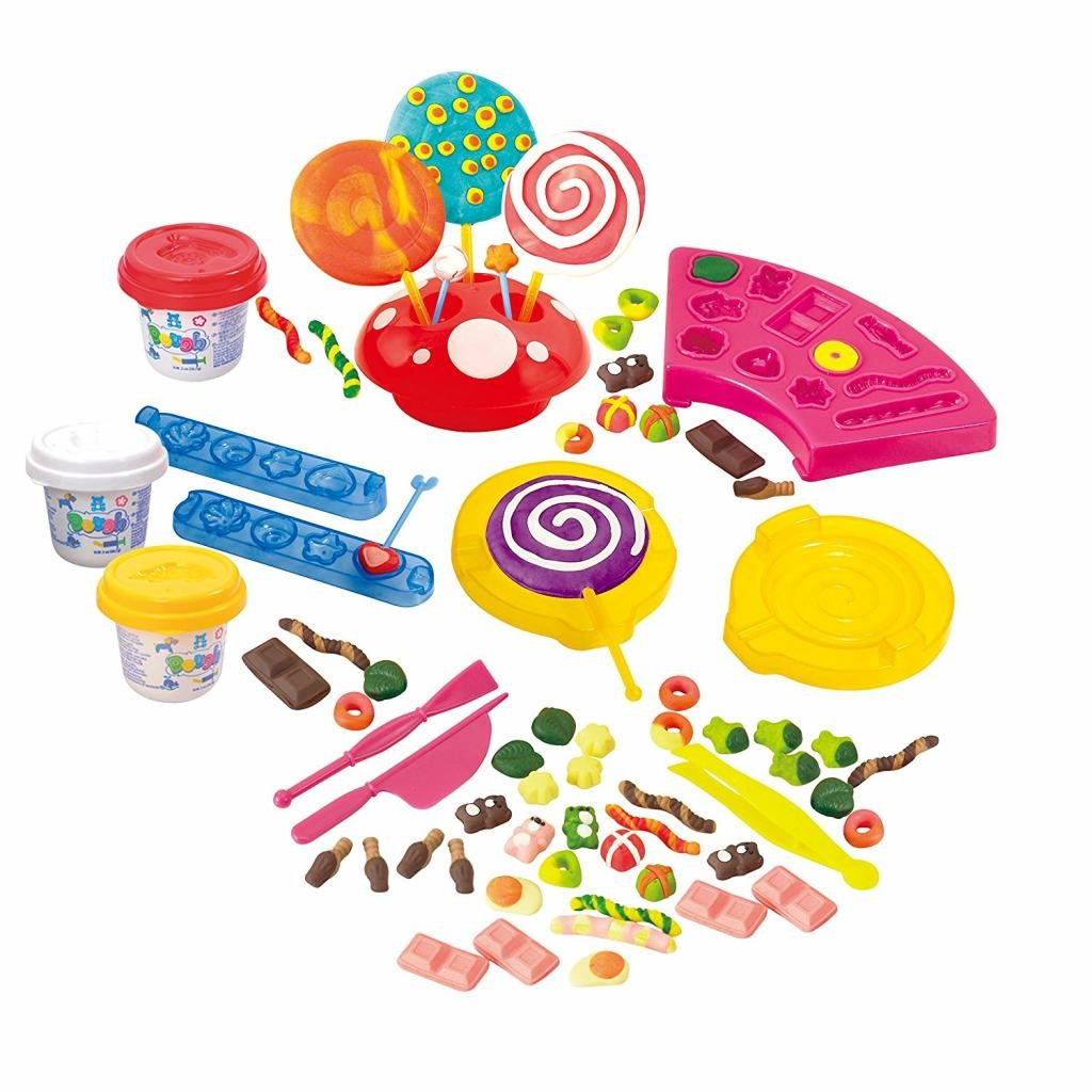 Набор с пластилином - СладостиНаборы для лепки<br>Набор с пластилином - Сладости<br>