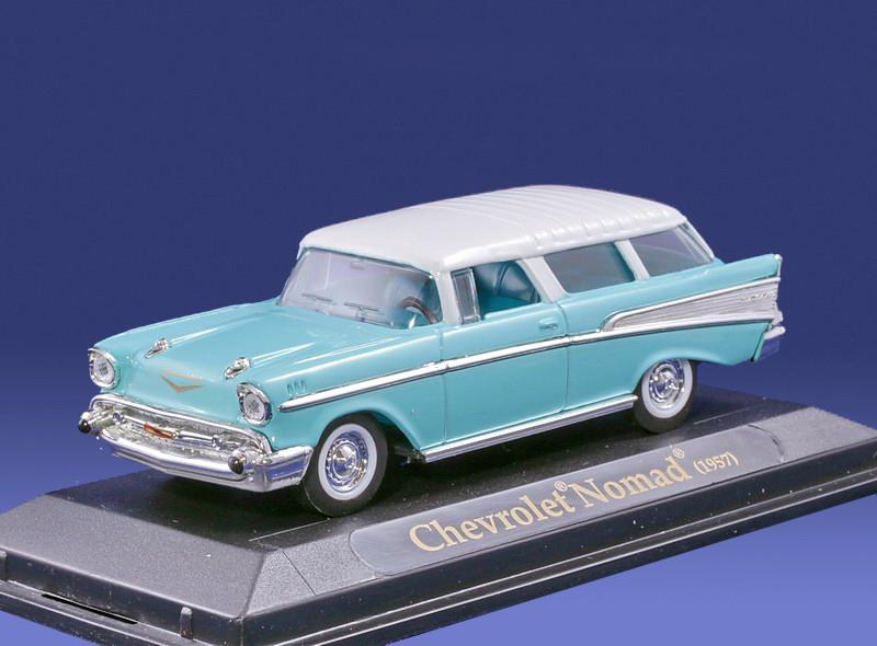 Коллекционная модель автомобиля 1957 года - Шевроле Nomad, 1/43Chevrolet<br>Коллекционная модель автомобиля 1957 года - Шевроле Nomad, 1/43<br>