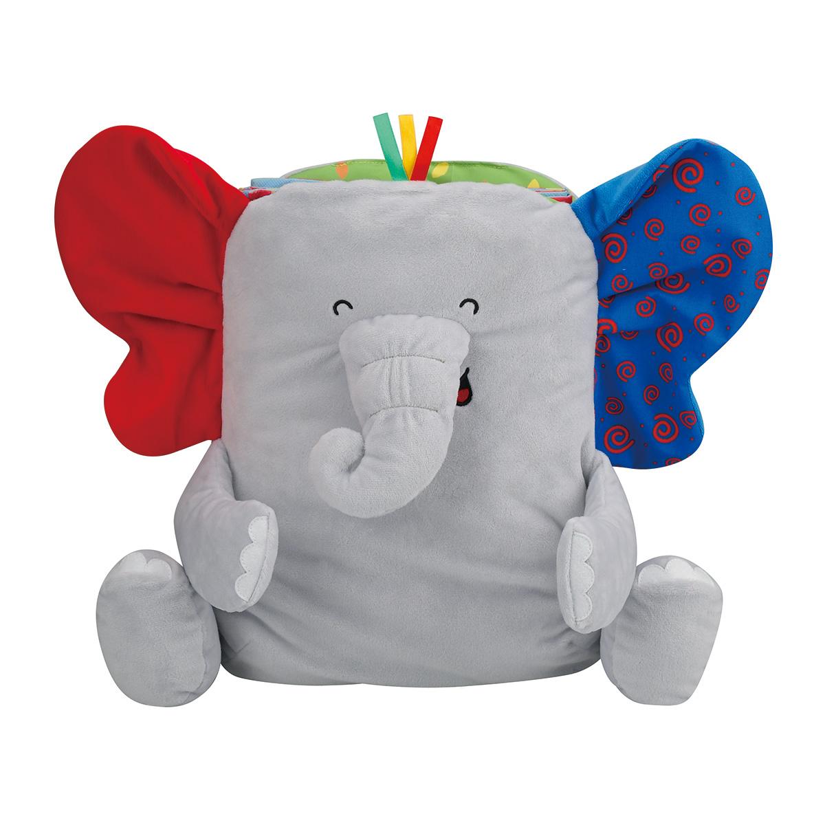 Развивающая игрушка-коврик СлонДетские развивающие коврики для новорожденных<br>Развивающая игрушка-коврик Слон<br>