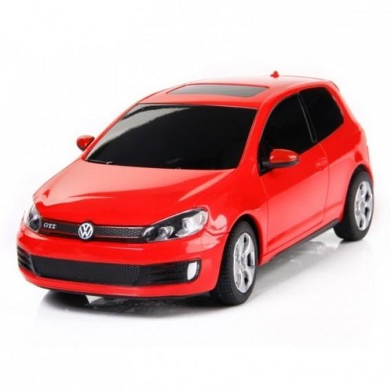 картинка Машина на радиоуправлении Volkswagen Golf GTI, цвет красный 27MHZ, 1:24 от магазина Bebikam.ru