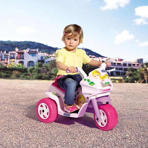 Мотоцикл для девочек Raider Mini Princess - Мотоциклы детские на аккумуляторе, артикул: 29013