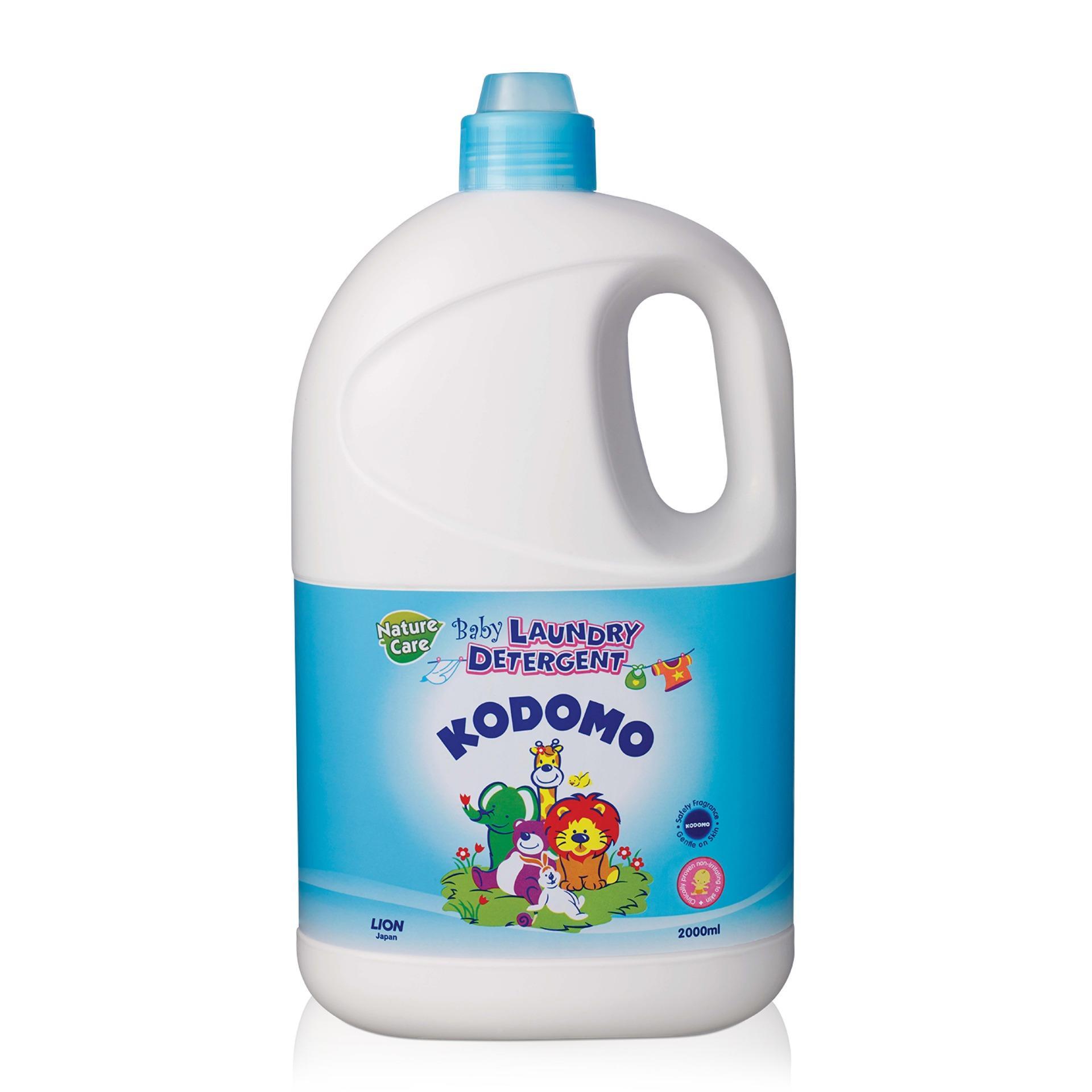 Купить Жидкое средство для стирки для детского белья, бутылка, 2 л, Lion Kodomo