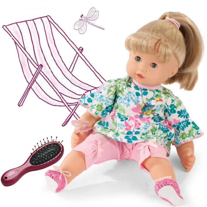 Купить Кукла Макси-маффин блондинка, 42 см. с расческой, Gotz