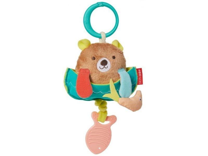 Развивающая игрушка-подвеска - МедвежонокРазвивающая дуга. Игрушки на коляску и кроватку<br>Развивающая игрушка-подвеска - Медвежонок<br>