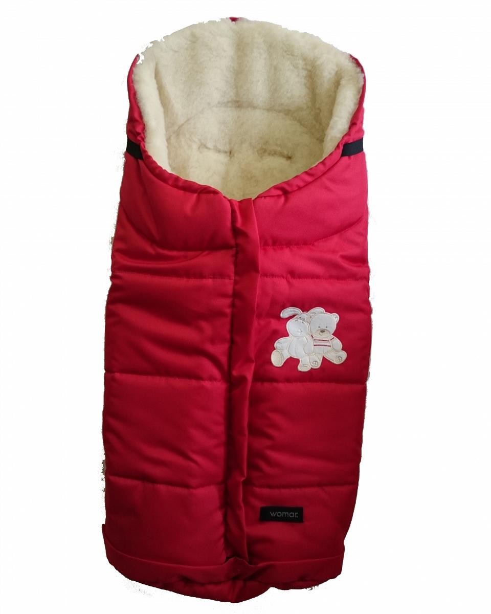Спальный мешок в коляску №12 - Wintry, polar флисовый, красныйЗимние конверты<br>Спальный мешок в коляску №12 - Wintry, polar флисовый, красный<br>