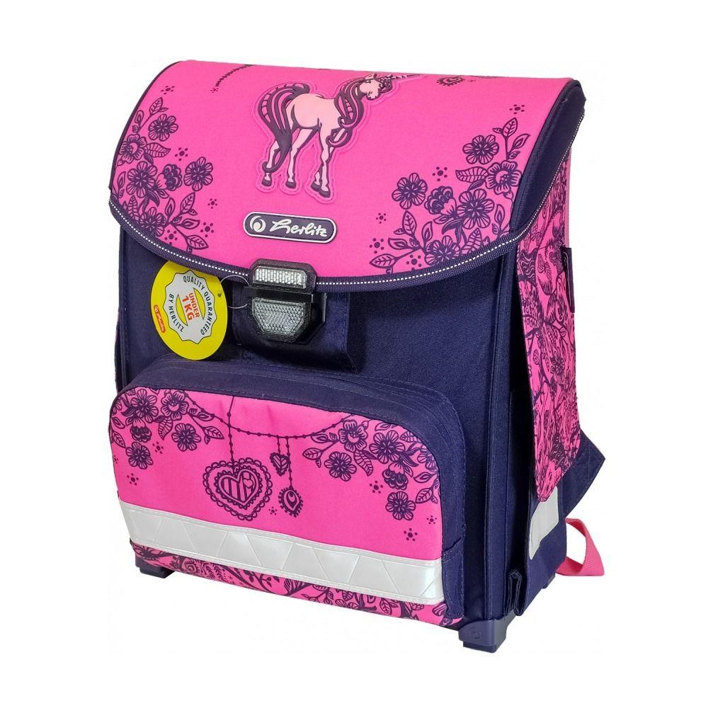 Купить Школьный ранец Herlitz Smart - Unicorn Day, без наполнения