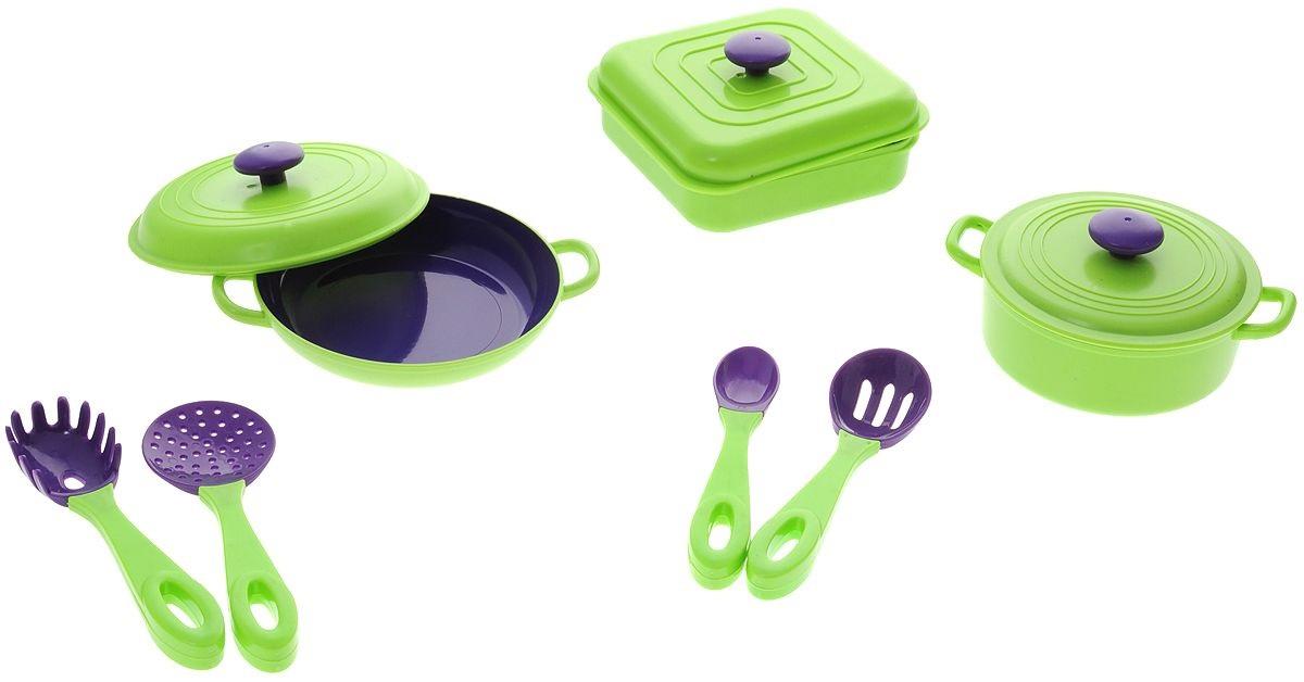 Набор посуды «Помогаю маме», 7 предметовАксессуары и техника для детской кухни<br>Набор посуды «Помогаю маме», 7 предметов<br>