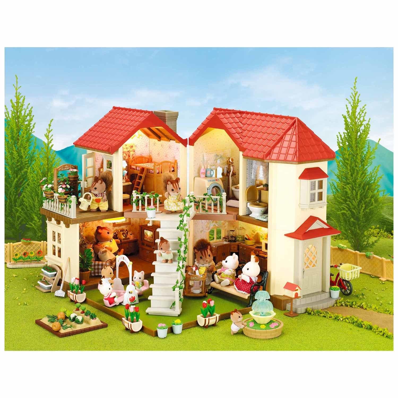 Sylvanian Families Набор Большой дом со светом по цене 8 499