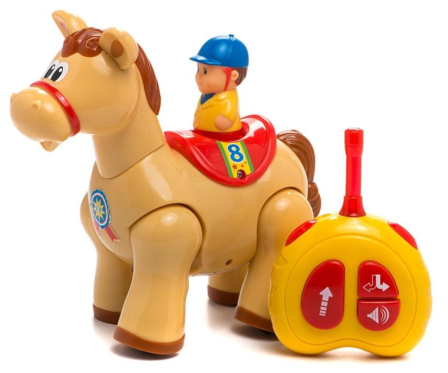 Развивающая игрушка «Пони» с пультом управления KiddielandИгрушки на дистанционном управлении<br>Развивающая игрушка «Пони» с пультом управления Kiddieland<br>