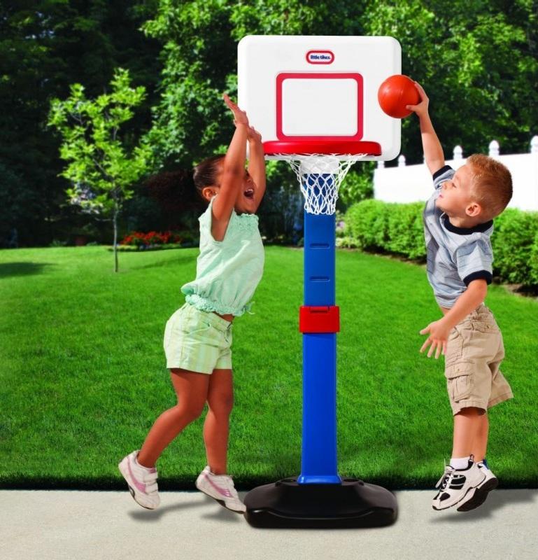 Баскетбольный щит раздвижной, с аксессуарами - Баскетбол, бадминтон, теннис, артикул: 118687