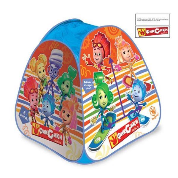 Детская игровая палатка - Фиксики, в сумкеДомики-палатки<br>Детская игровая палатка - Фиксики, в сумке<br>