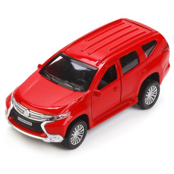 Металлическая инерционная машина - Mitsubishi Pajero Sport, 12 смMitsubishi<br>Металлическая инерционная машина - Mitsubishi Pajero Sport, 12 см<br>