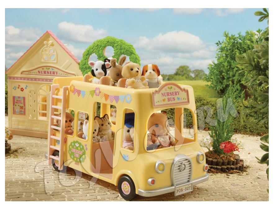 Sylvanian Families - Двухэтажный автобус для малышей