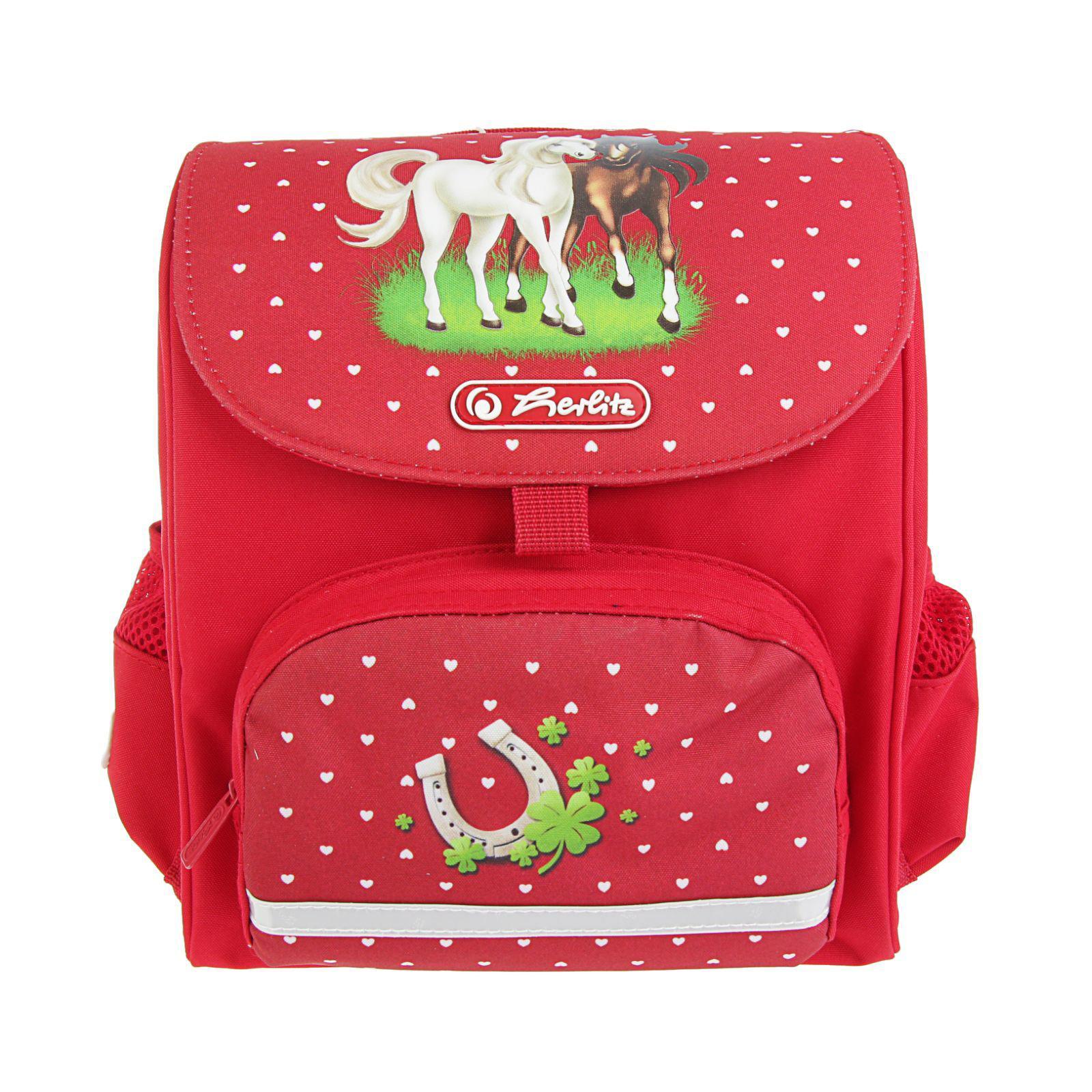 Ранец дошкольный Mini Softbag - Horses, без наполненияДетские рюкзаки<br>Ранец дошкольный Mini Softbag - Horses, без наполнения<br>