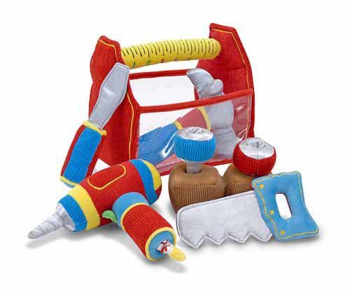 Набор мягких инструментов из серии Первые игрушкиДетские мастерские, инструменты<br>Набор мягких инструментов из серии Первые игрушки<br>