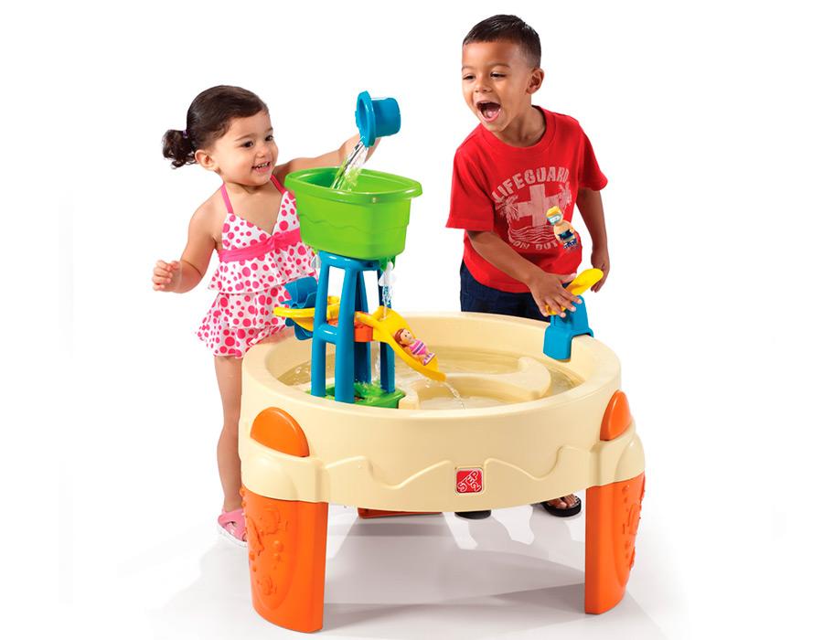 Столик для игр с водой Step 2 Водный паркДетские песочницы<br>Столик для игр с водой Step 2 Водный парк<br>