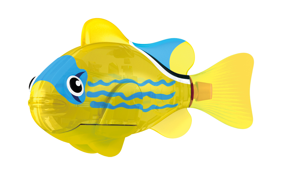 Светодиодная РобоРыбка Жёлтый фонарьИгрушки для ванной<br>Светодиодная РобоРыбка Жёлтый фонарь<br>