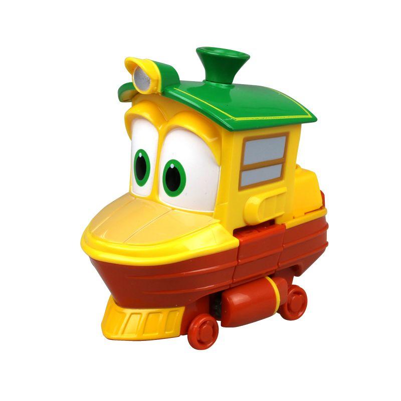 Трансформер Утенок из серии Роботы-поезда, 10 см.Роботы-поезда (Robot Trains)<br>Трансформер Утенок из серии Роботы-поезда, 10 см.<br>