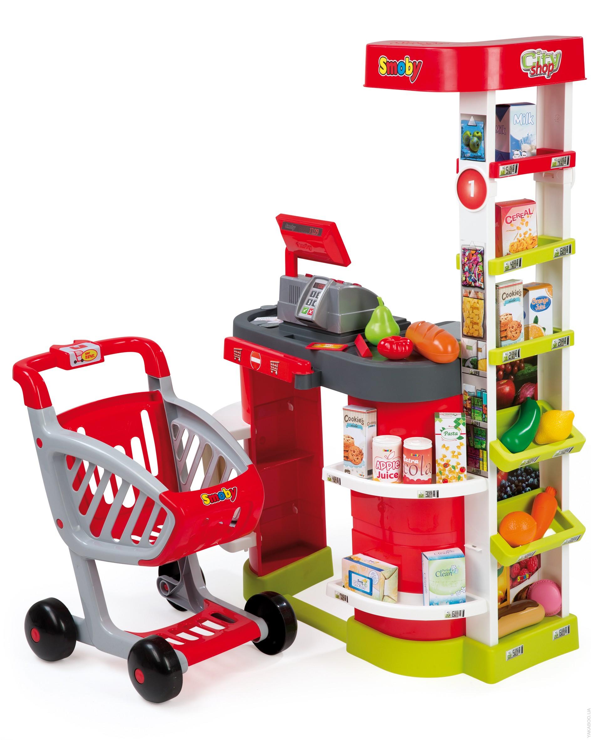 Супермаркет игровой City Shop, свет, звукДетская игрушка Касса. Магазин. Супермаркет<br>Супермаркет игровой City Shop, свет, звук<br>