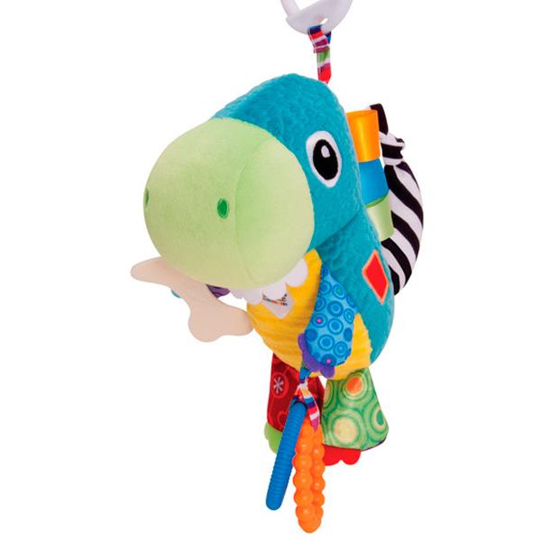 Мягкая игрушка - Динозавр ТоринДетские погремушки и подвесные игрушки на кроватку<br>Мягкая игрушка - Динозавр Торин<br>