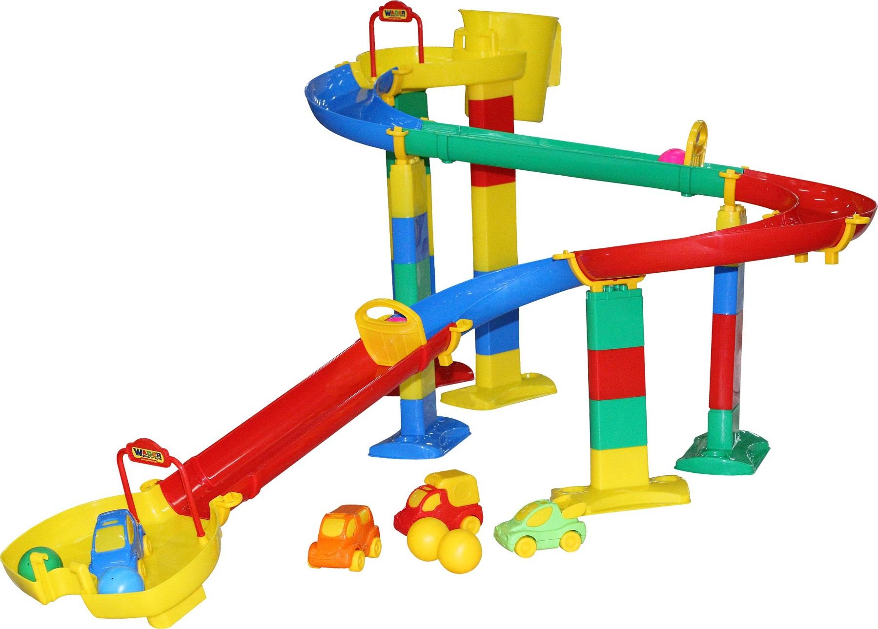 Горка для шариков, набор №3 в пакетеДетские развивающие игрушки Полесье<br>Горка для шариков, набор №3 в пакете<br>