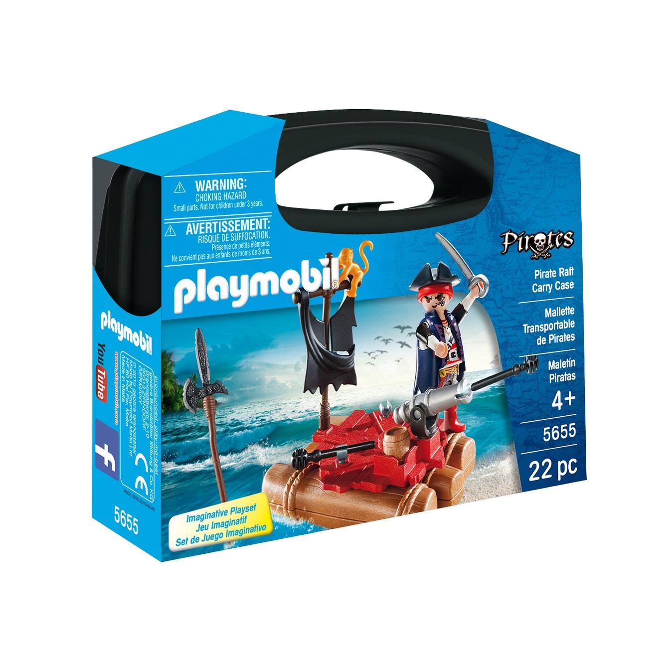 Купить Игровой набор - Возьми с собой: Пиратский плот, Playmobil