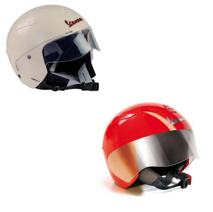 Защитный шлем Vespa, 2 варианта цветаЗащита: шлемы и пр.<br>Защитный шлем Vespa, 2 варианта цвета<br>
