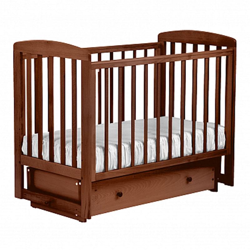 Купить Кровать детская Лель АБ 16.2 Ромашка маятник поперечный, орех светлый