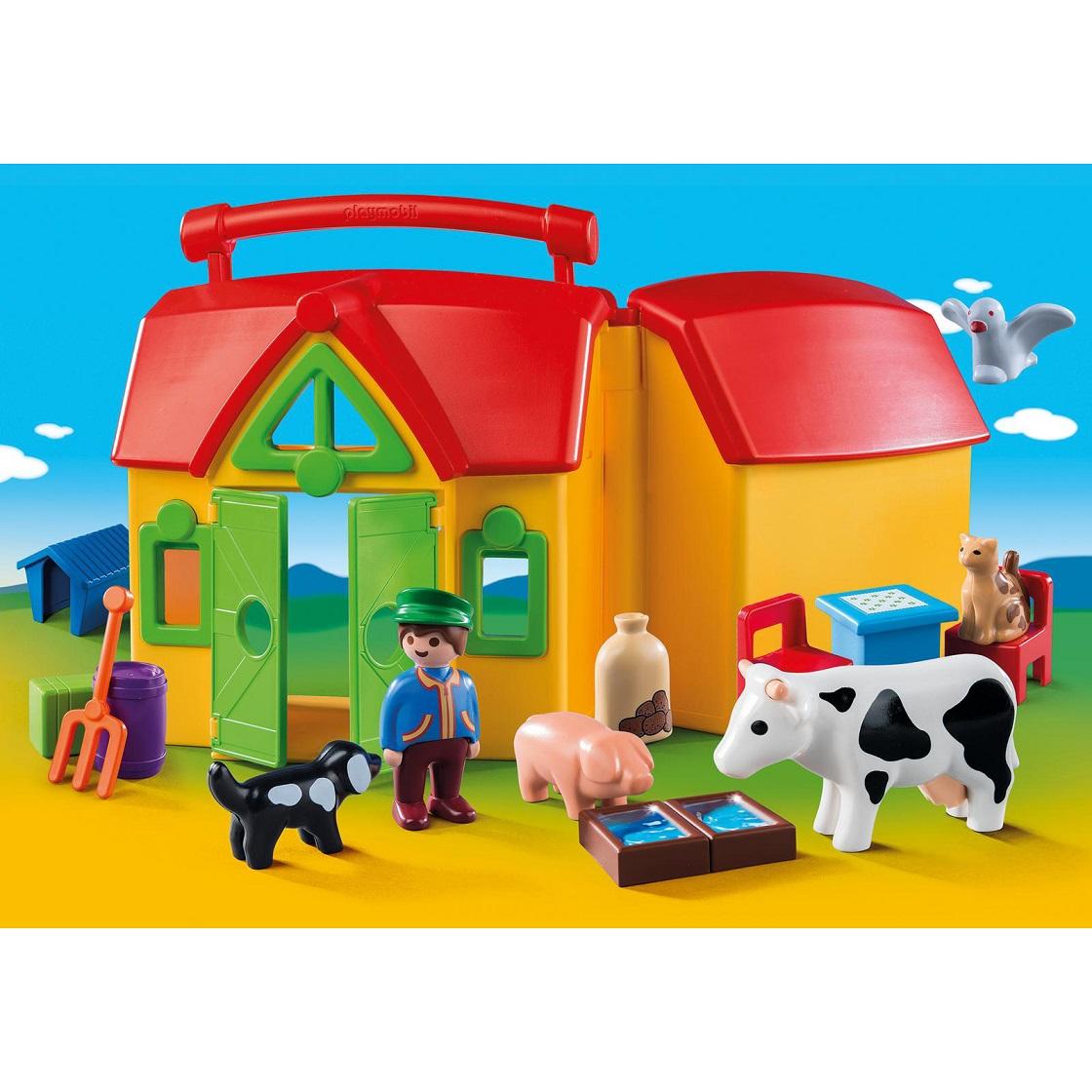 Игровой набор Ферма из серии Возьми с собой - Игровые наборы Зоопарк, Ферма, артикул: 175260