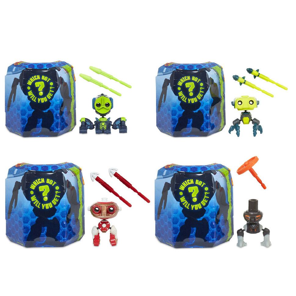 Купить Игрушка Ready2Robot - Капсула и минибот, MGA Entertainment