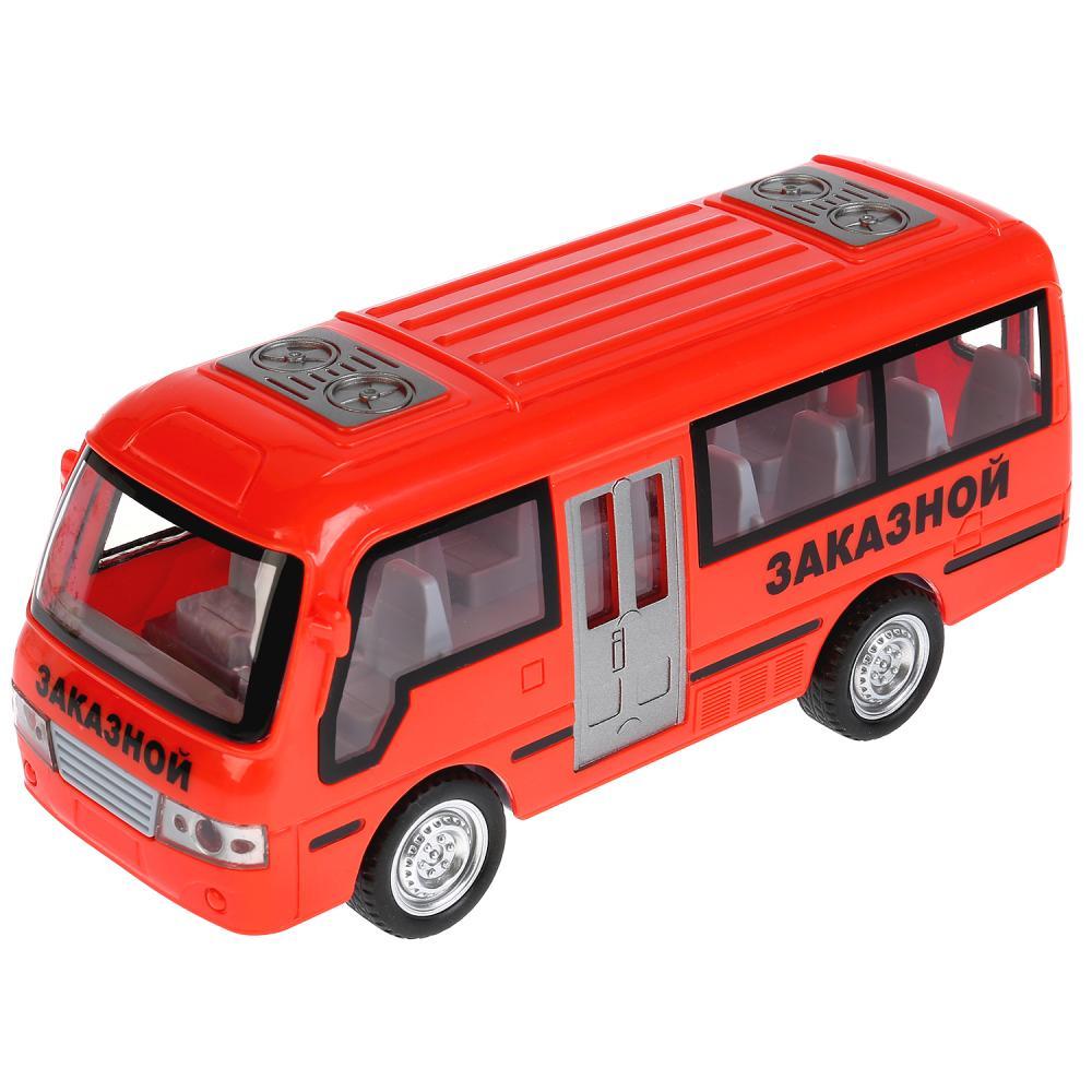 Автобус инерционный, свет и звук фото