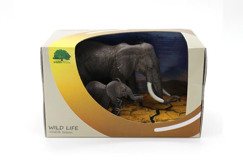 Набор фигурок «Семейство слонов»Дикая природа (Wildlife)<br>Набор фигурок «Семейство слонов»<br>