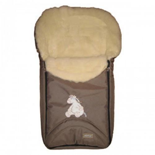 Спальный мешок в коляску №07  North pole, коричневый - Прогулки и путешествия, артикул: 171055