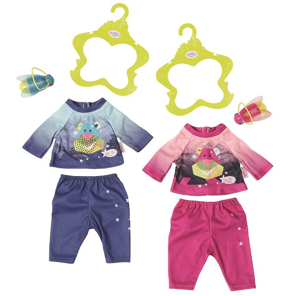 Одежда для куклы Baby Born - Удобный костюмчик и светлячок-ночникОдежда Baby Born <br>Одежда для куклы Baby Born - Удобный костюмчик и светлячок-ночник<br>
